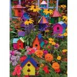 Puzzle   XXL Teile - Janet Kruskamp - Birdhouses
