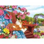 Puzzle   XXL Teile - Nancy Wernersbach - Spring Fling