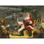 Puzzle   XXL Teile - Tom Newsom - Santa's Checklist