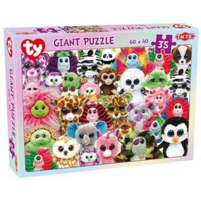 Puzzle Tactic-53286 Ty Beanie Boos
