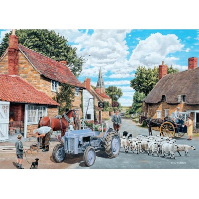 Puzzle Jumbo-11026 Trevor Mitchell: Country Lane