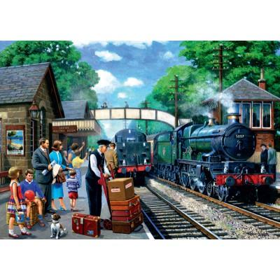 Puzzle Jumbo-11027 Dampflok Express