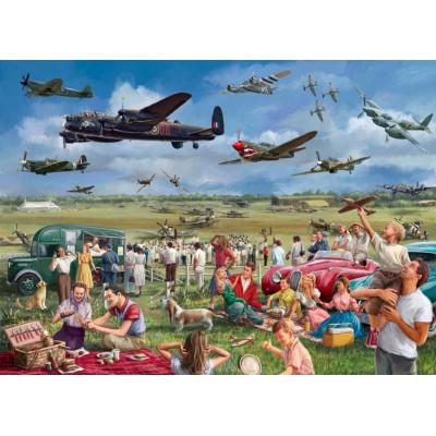 Puzzle Jumbo-11030 Marcello Corti: Amazing Airshow
