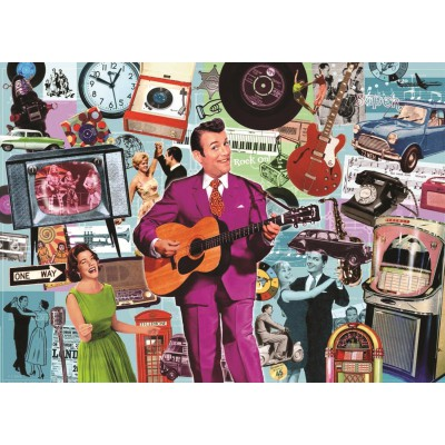 Puzzle Jumbo-11031 Best of British 3: Rock' n' Roll