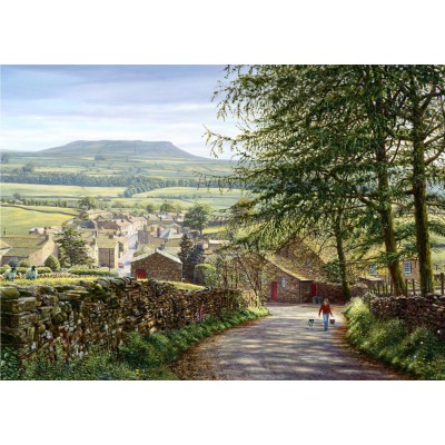 Puzzle Jumbo-11032 Around Britain - Keith Melling: Askrigg, Wensleydale