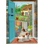 Puzzle  Jumbo-11040 Through the Cottage Door