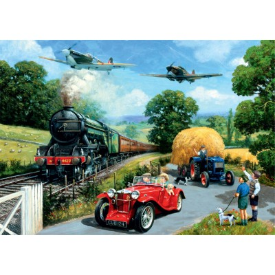 Puzzle Jumbo-11045 Kevin Walsh: Wartime Summer