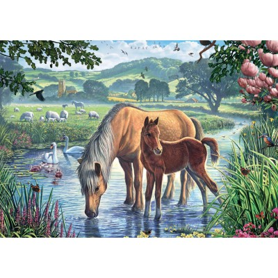 Puzzle Jumbo-11051 Steve Crisp: Pony and Foal