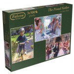 Jumbo-11058 3 Puzzles - Steve Noon: The Proud Father