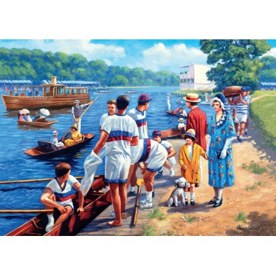Puzzle Jumbo-11076 Kevin Walsh: Rowing Regatta