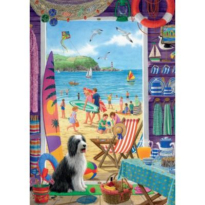 Puzzle Jumbo-11092 Sarah Adams: Am Strand