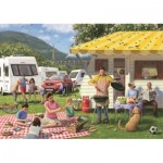 Puzzle  Jumbo-11093 Daniel Rodgers - Family Holiday