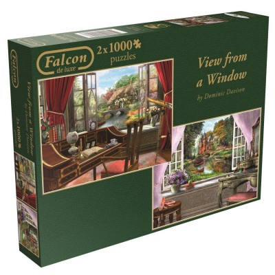 Jumbo-11099 2 Puzzles - Dominic Davison - View from a Window
