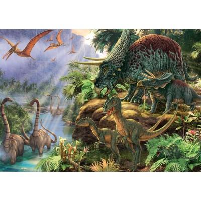 Puzzle Jumbo-11103 Steve Read: Dinosaur Valley