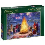 Puzzle  Jumbo-11121 Daniel Rodgers - Bonfire Night