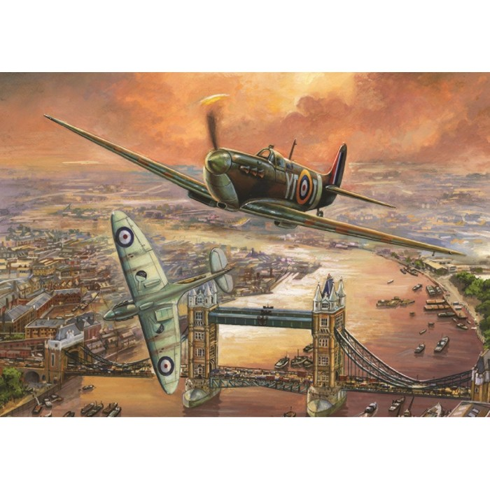 Jim Mitchell - Spitfire over London