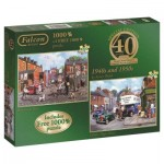 Jumbo-11132 2 Puzzles - Kevin Walsh: 1940s and 1950s