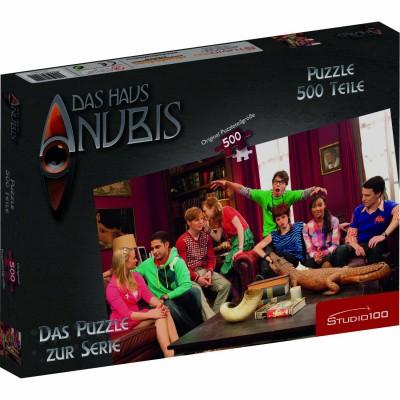 Puzzle Studio 100-30499 Das Haus Anubis