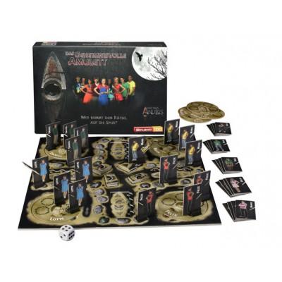 Puzzle Studio 100-42997 Das Haus Anubis : Brettspiel Das geheimnisvolle Amulett
