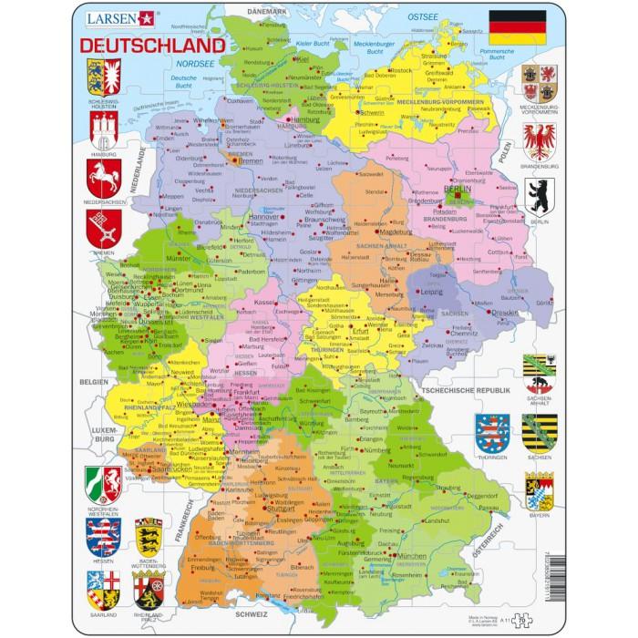 Rahmenpuzzle - Deutschland