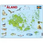 Larsen-A12 Rahmenpuzzle - Âland-Inseln