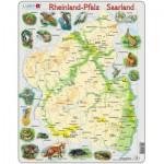Larsen-A2 Rahmenpuzzle - Reinland-Pfalz/ Saarland
