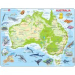 Larsen-A31 Rahmenpuzzle - Australien