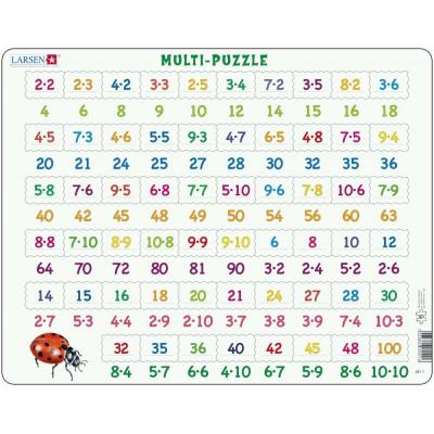 Larsen-AR1 Rahmenpuzzle - Mathematik: Multiplikation