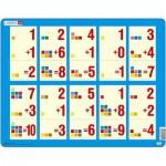 Larsen-AR11 Rahmenpuzzle - Mathematik: Addition von 1 bis 10