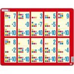 Larsen-AR13 Rahmenpuzzle - Mathematik: Addition von 1 bis 10