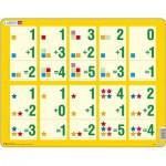 Larsen-AR14 Rahmenpuzzle - Mathematik: Addition von 1 bis 5