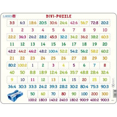 Larsen-AR9 Rahmenpuzzle - Divi (Division)