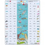 Larsen-EN8 Rahmenpuzzle - Learning English 8: Der Hafen