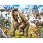 Larsen-FH27 Rahmenpuzzle - Mammuts