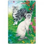 Larsen-H17-1 Rahmenpuzzle - Katzen