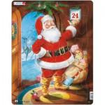 Larsen-JUL1 Rahmenpuzzle - Der Weihnachtsmann