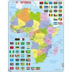 Larsen-K13-DE Rahmenpuzzle - Afrika