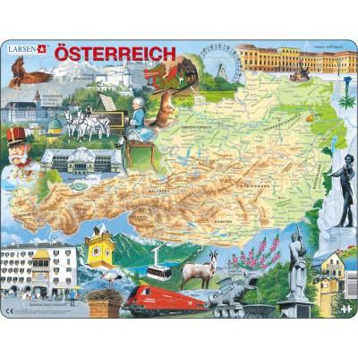 Larsen-K20 Rahmenpuzzle - Österreich