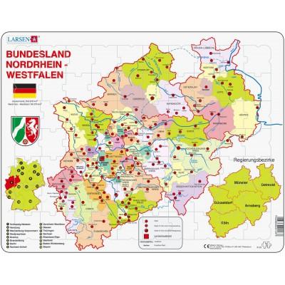 Larsen-K23 Rahmenpuzzle - Nordrhein-Westfalen