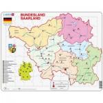 Larsen-K35 Rahmenpuzzle - Bundesland: Saarland