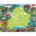 Larsen-K56 Rahmenpuzzle - Weißrussland (auf Russisch)
