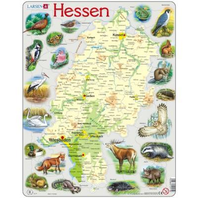 Larsen-K74 Rahmenpuzzle - Hessen