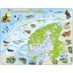 Larsen-K80 Rahmenpuzzle - Friesland, Niederlande (auf Holländisch)