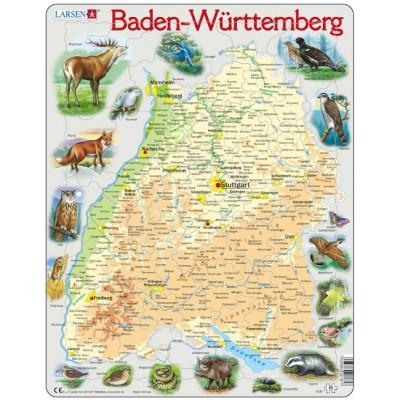 Larsen-K81 Rahmenpuzzle - Baden-Württemberg