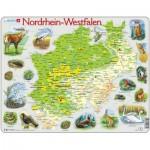 Larsen-K82 Rahmenpuzzle - Nordrhein-Westfalen