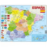 Larsen-K85 Rahmenpuzzle - Spanien (auf Spanisch)