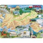 Larsen-K86 Rahmenpuzzle - Tirol