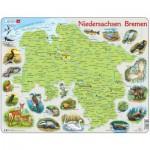 Larsen-K88 Rahmenpuzzle - Niedersachsen  /Bremen