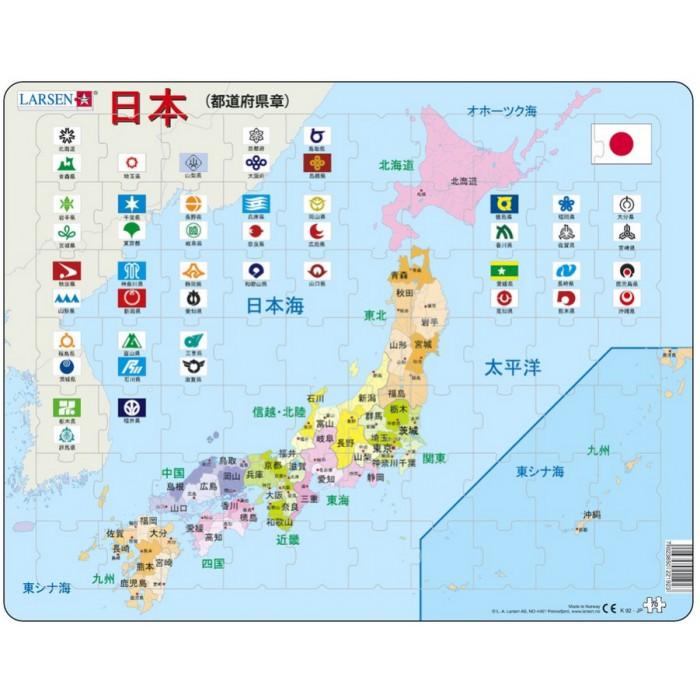 Rahmenpuzzle - Japan (auf Japanisch)
