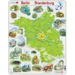Larsen-K96 Rahmenpuzzle - Brandenburg und Berlin